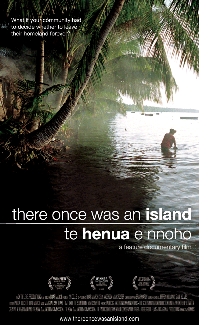 Poster of the film There Once Was An Island: Te Henua e Nnoho